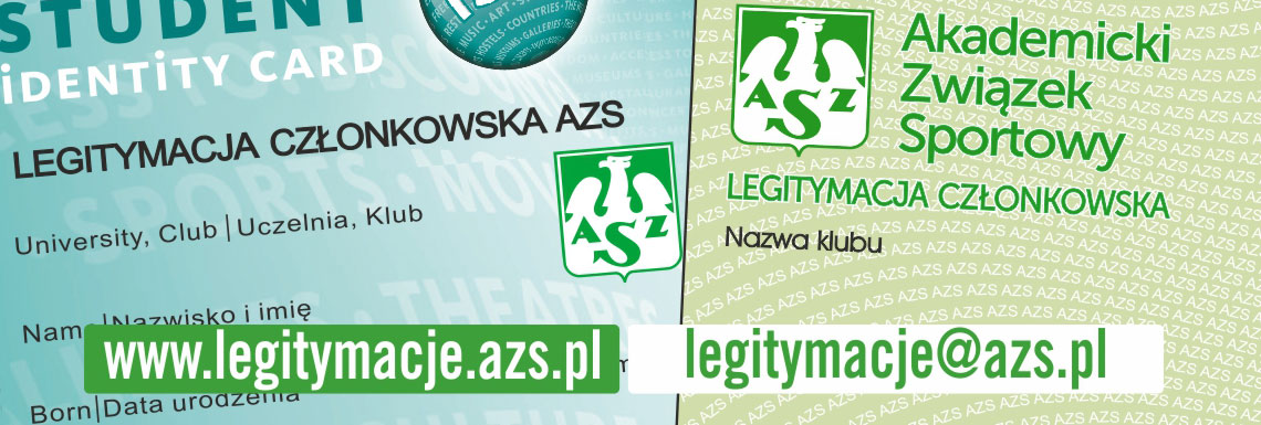 Legitymacja ISIC-AZS