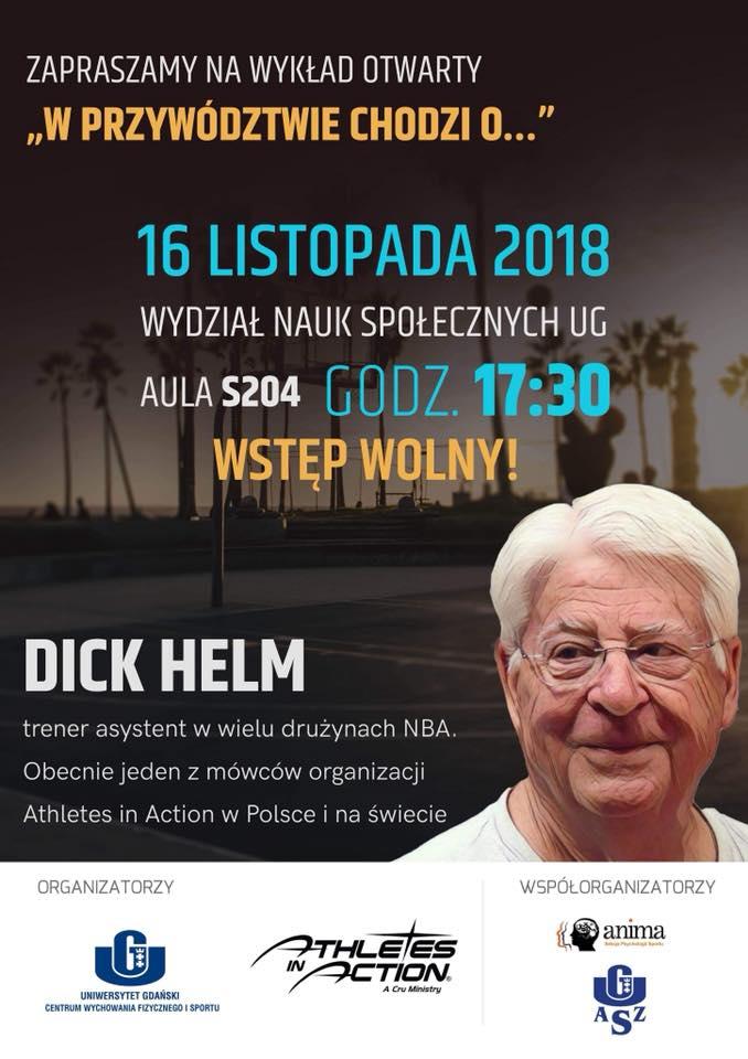 Dick Helm wykład