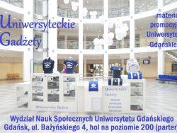 Uniwersyteckie Gadżety – zdjęcie promujące sklepik